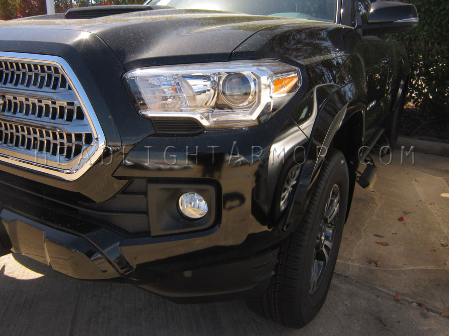 Toyota Tacoma Clear Headlight Protection Kit