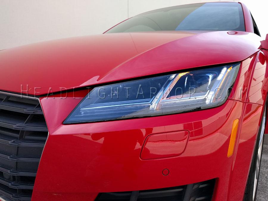 16 18 Audi Tt Tts And Tt Rs Headlight Protection Film Kit