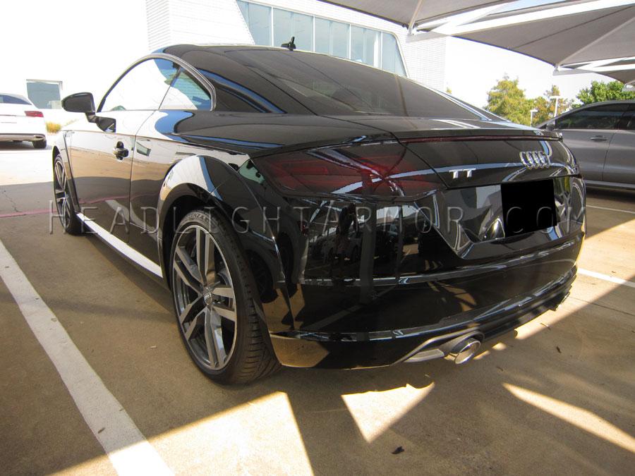 16 18 Audi Tt Tts Or Tt Rs Smoked Taillight Film Kit