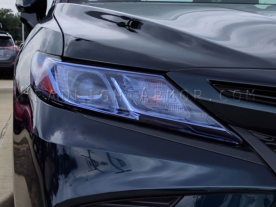 18 Toyota Camry Headlight Protection Film Kit