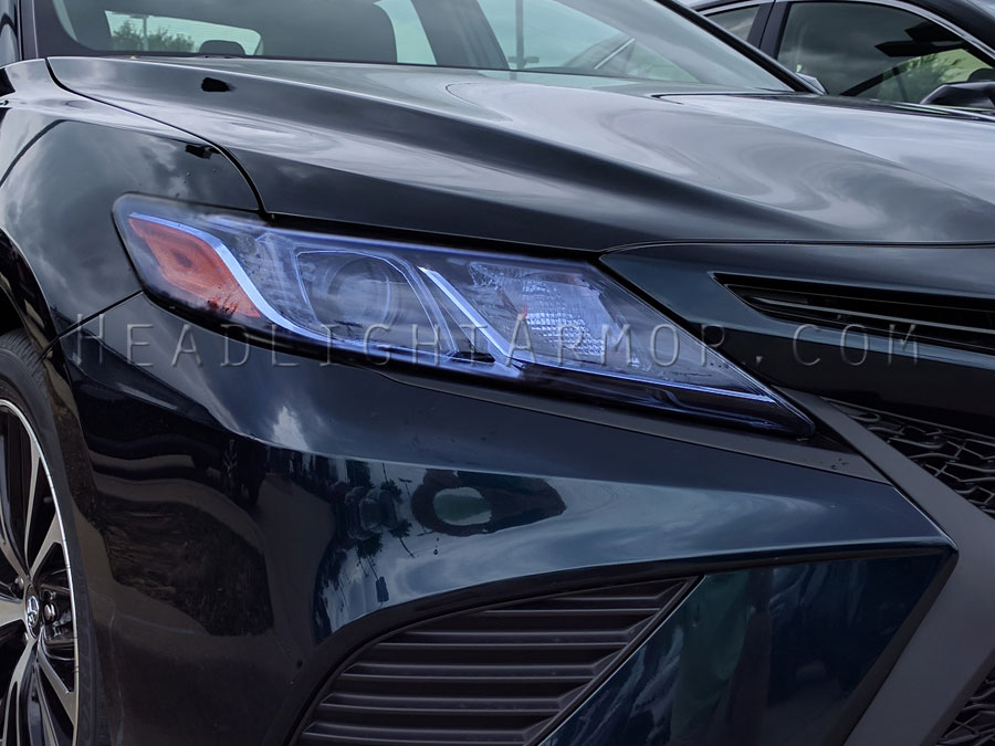 Toyota Camry Hid Blue Headlight Protection Film