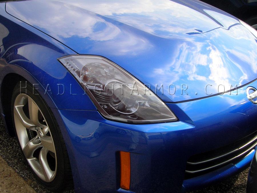 Nissan 350z Light Smoke Headlight Protection Kit