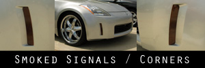 03-05 Nissan 350Z Front Marker Protection Kit