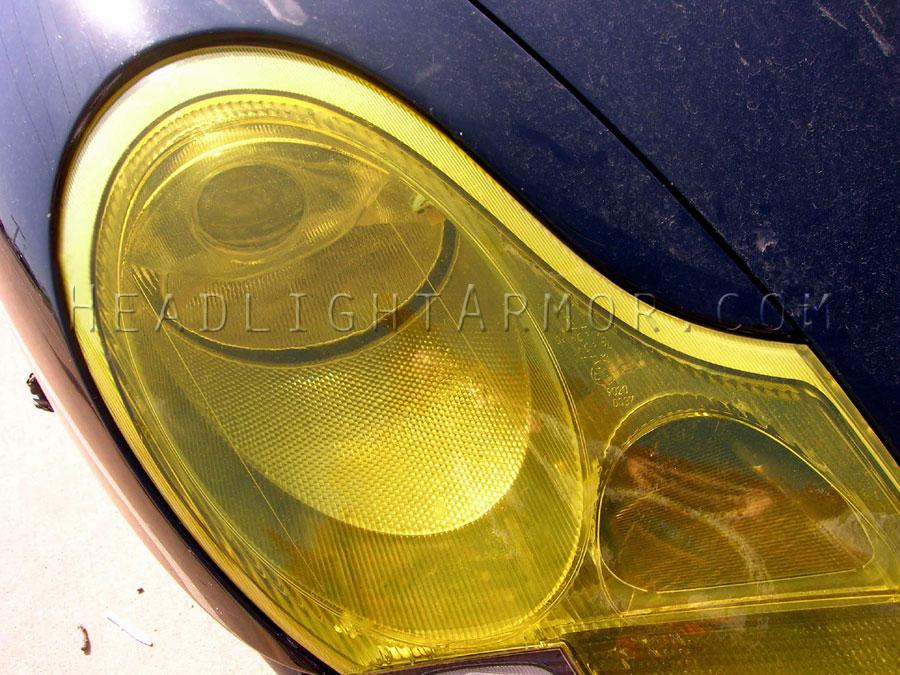 99,01 Porsche 911 996 Headlight Protection Film