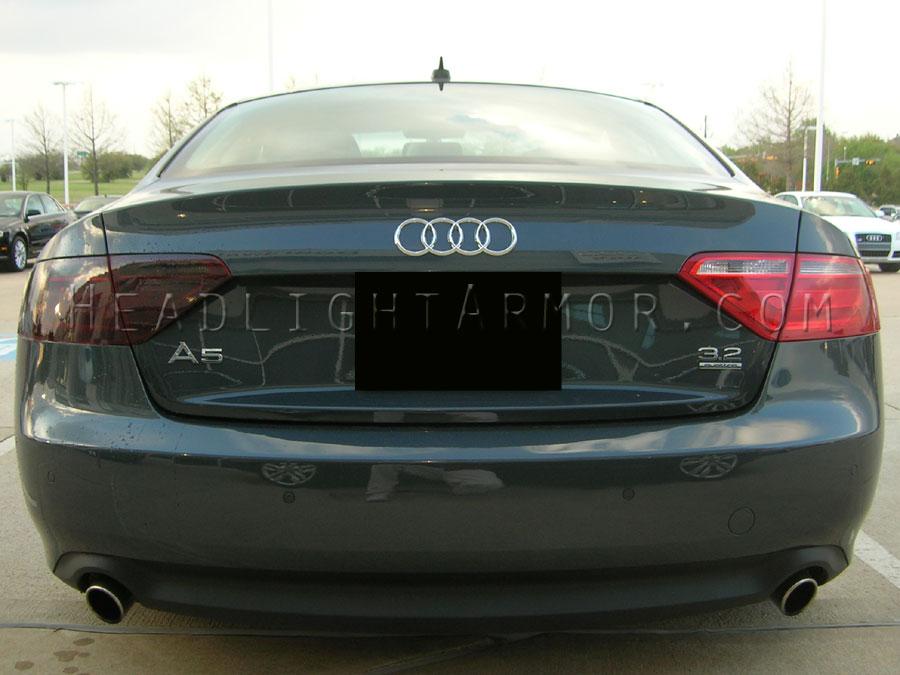 Precut Vinyl Tint Cover for 2008-2011 Audi A5 S5 Headlights 35/% Light Smoke
