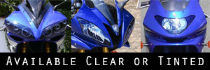 Yamaha Motorcycle Headlight Protection Kit