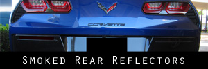 14-19 Chevrolet Corvette Rear Reflector Protection Kit