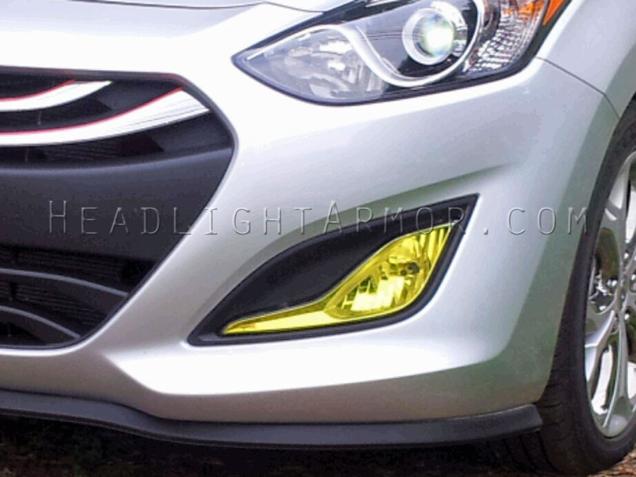 13 17 hyundai elantra gt fog light protection film  elantra 4 door sedan fog lights