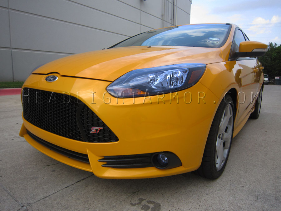 Ford Focus St Hid Blue Headlight Protection Film