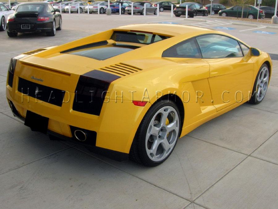 03 08 Lamborghini Gallardo Smoked Taillight Film Kit