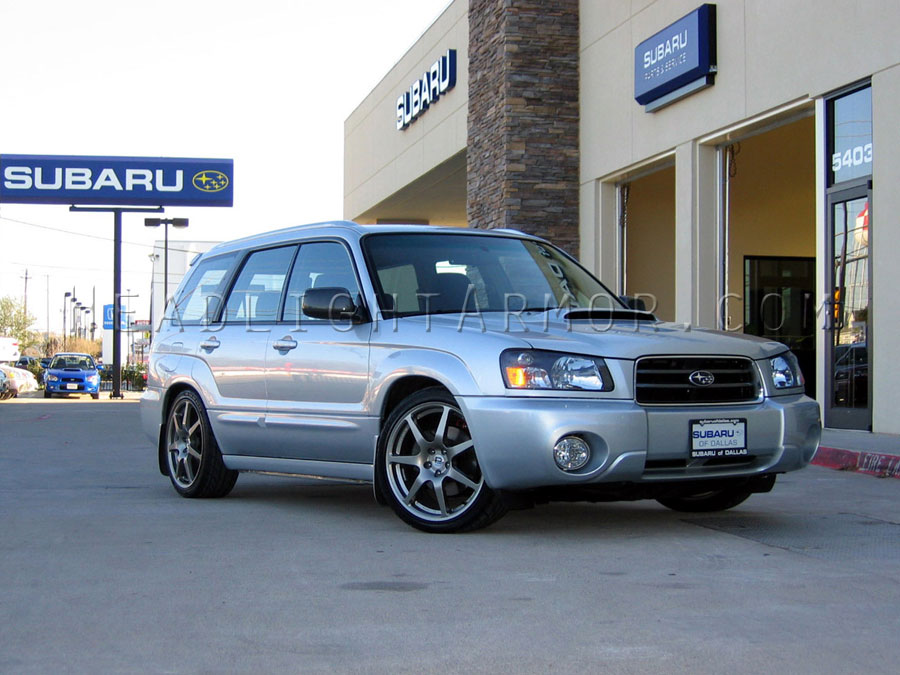 Subaru Forester Clear Headlight Protection Kit