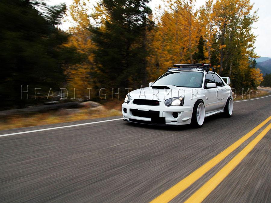 ... Subaru Impreza WRX STI Smoked JDM Foglight ...