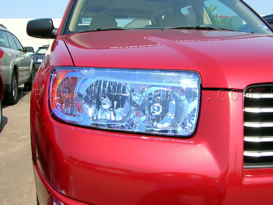 06 08 Subaru Forester Headlight And Fog Light Protection Film Kit