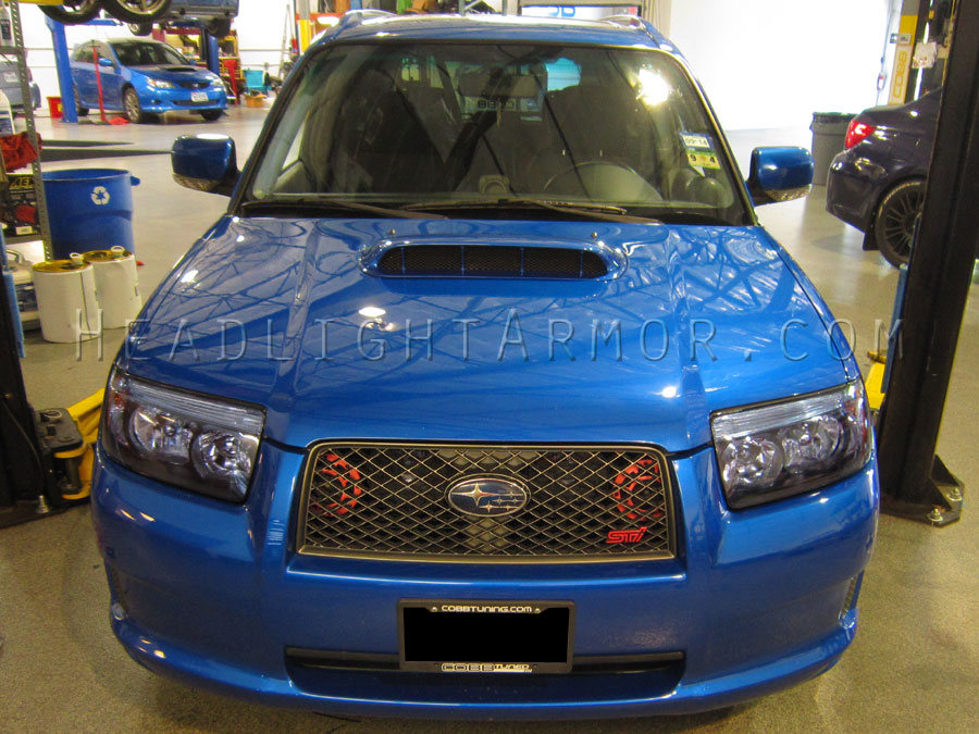 Subaru Forester Hid Blue Headlight Protection Kit