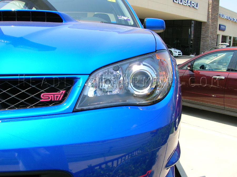 Subaru Impreza Wrx Sti Clear Headlight Protection Kit