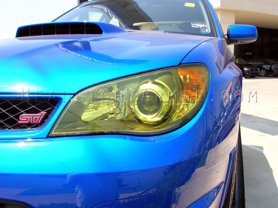 06 07 subaru impreza and wrx headlight and fog light protection film kit