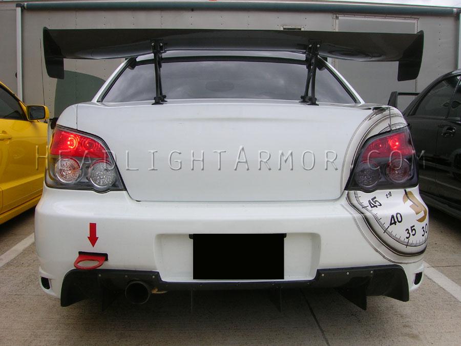 Subaru Impreza Wrx Sti Light Smoked Taillight Kit Vs Stock Brake Lights