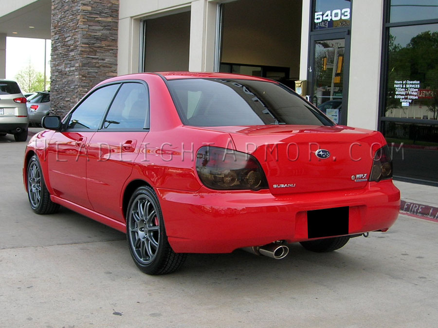 Subaru Impreza Wrx Sti Sedan Smoked Taillight Kit
