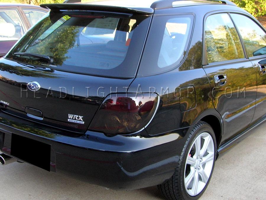 Subaru Impreza And Wrx Wagon Stealth Smoked Taillight Kit