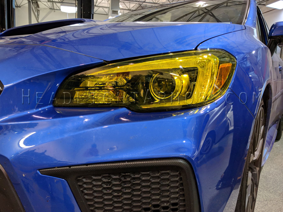 15 19 Subaru Wrx And Sti Headlight Protection Film Kit